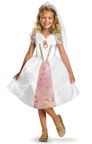 Discount Wedding Veils (Rapunzel Wedding Gown Child Costume - Small)
