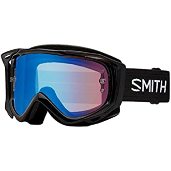 Smith Optics Fuel V.1 Adult Off-Road Cycling Goggles Black//Red Mirror//One Size