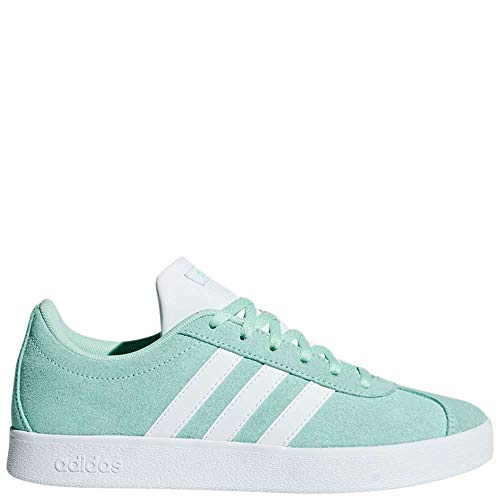- adidas Kids Unisex VL Court 2 (Little Kid/Big Kid) Clear Mint/Footwear White/Footwear White 11.5 M US Little Kid