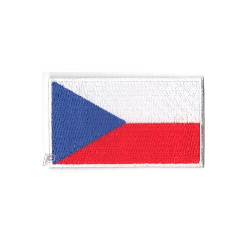 Czech Republic Embroidered Country National Flag Iron On Patch Emblem Team