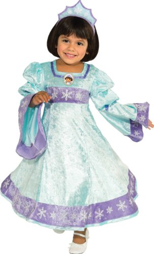 Rubies Dora The Explorer Snow Princess Child Costume, Small (Dora The Explorer Costumes)