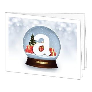 Amazon Gift Card - Print - Holiday Snow Globe (B0062ONG9A) | Amazon price tracker / tracking, Amazon price history charts, Amazon price watches, Amazon price drop alerts