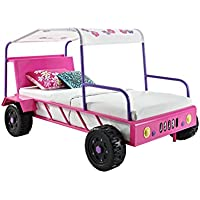 Powell 193-0382 Girls Buggy Bed, Twin