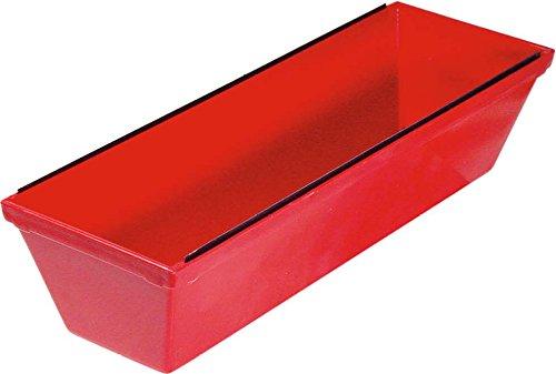 Goldblatt Tools G05034 Plastic Mud Pan, Red