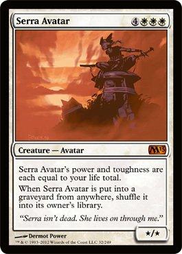 Free Magic: the Gathering - Serra Avatar - Magic 2013