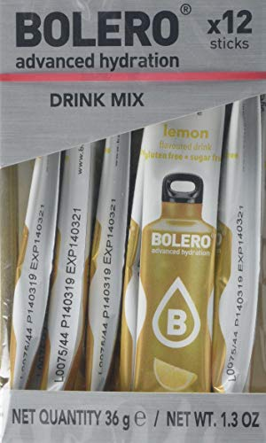 Bolero Sticks Drink, 3 g, Lemon, 12-Count