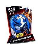 Mattel WWE Wrestling Rey Mysterio Mask Blue, White Cross & Black Trim
