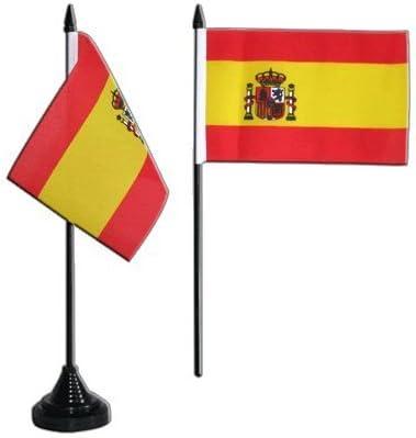 Digni - Banderín de España con escudo (10 x 15 cm): Amazon.es ...