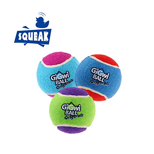 Gigwi Dog Squeaky Tennis Ball 2.5