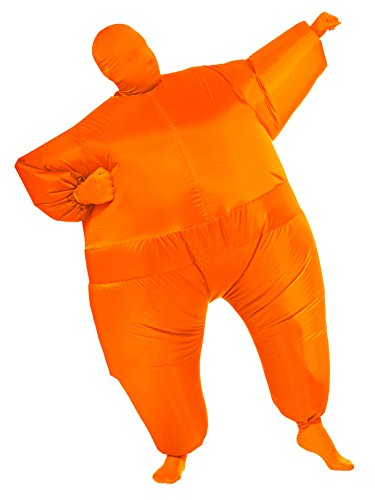 Rubie's Inflatable Full Body Suit Costume, Orange, One -