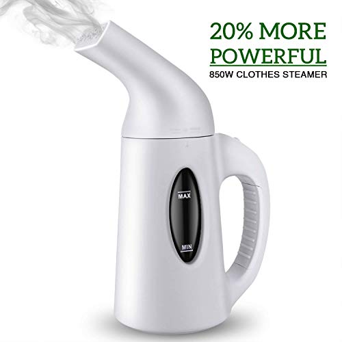 NBLIFE Steamer for Clothes, Clothes-Steamer-Handheld, Portable-Travel-Garment Steamer [ 850W Powerful ] Fabric-Iron Steamer Wrinkle Remover. Reject Spit Out Water Compact Steamer for Home/Travel