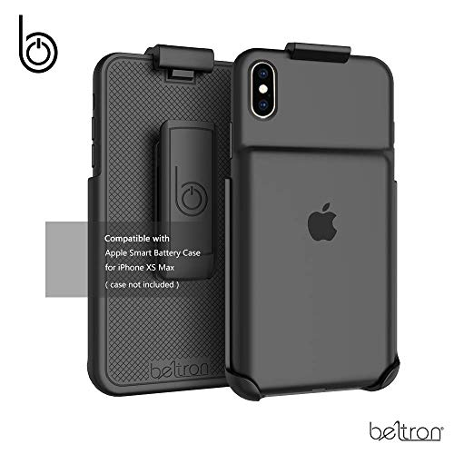 Belt Clip Holster Compatible with Apple Smart Battery Case (for iPhone Xs Max) - Smart Case NOT Included (Renewed)