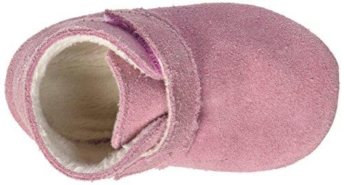 Robeez Pole Nord - pantuflas de cuero Bebé-Niños Rose (Rose)