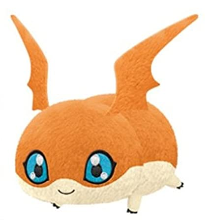 Amazoncom Banpresto Digimon Patamon Laying Down Plush 10in