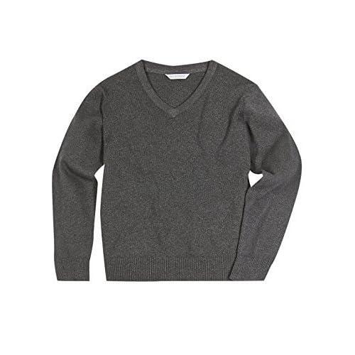 Grey School Jumper Amazoncouk