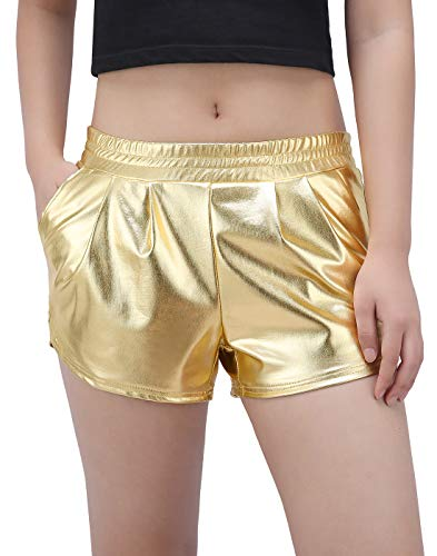 Gold Shorts Size Small - Sexy Boxer