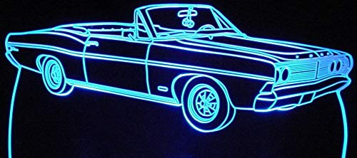 - ValleyDesignsND 1968 Galaxie 500 Convertible Acrylic Lighted Edge Lit 13