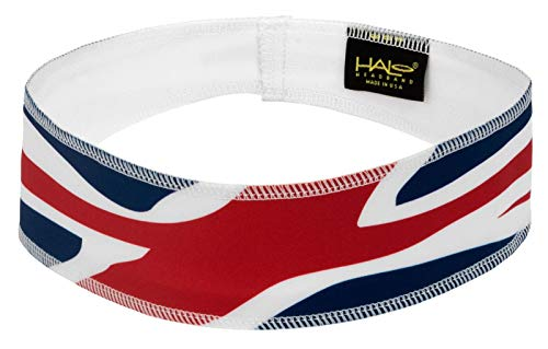 Halo II Sweatband Pullover Banda para la Cabeza, Bandera del Reino Unido, Una Talla
