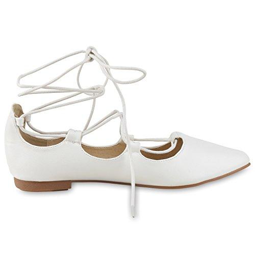 napoli-fashion - Bailarinas Mujer Weiß
