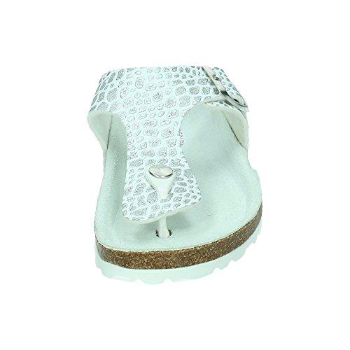 MADE IN SPAIN ,  Damen Sandalen Weiß
