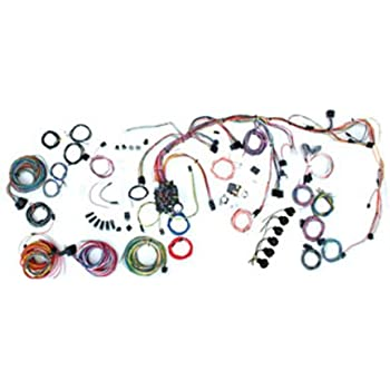 american autowire 500878 wire harness system for 69-72 nova