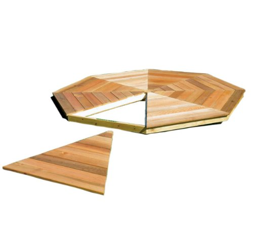 Monterey Oval 10' x 14' Gazebo Floor Kit
