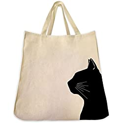 Dog Cat and Pet Tote Bags Extra Large Reusable Canvas Over the Shoulder Handbags