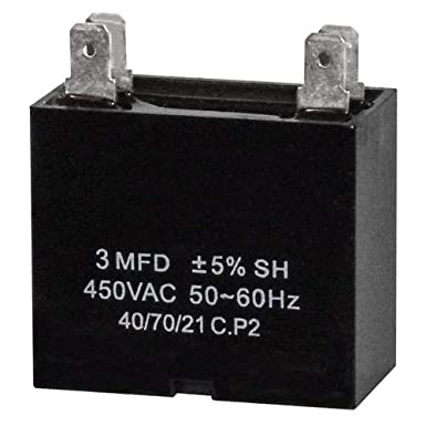 Electrical capacitor 3,5 UF 3,5uf 450v Capacitor Start Motor elettropo pump