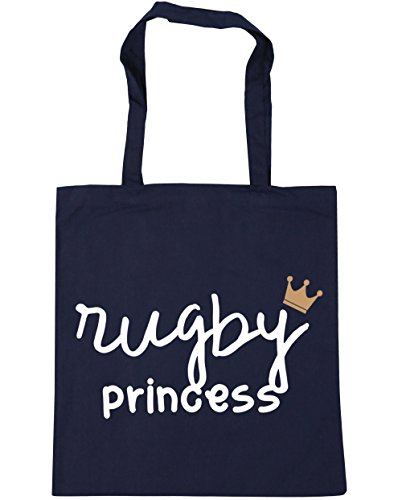 French Rugby litres Beach Princess 10 Gym Bag HippoWarehouse x38cm Tote 42cm Shopping Navy Pwv1XSqxd