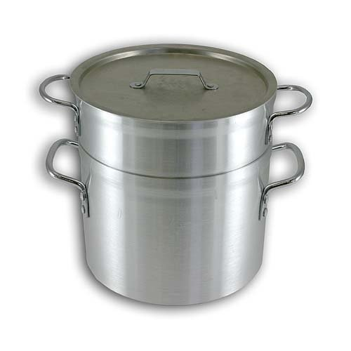 Alegacy Eagleware EWDB10 Professional Aluminum Double Boiler, 10-Quart by Alegacy