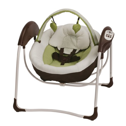 Graco Glider Petite LX Gliding Swing, Go Green by Graco
