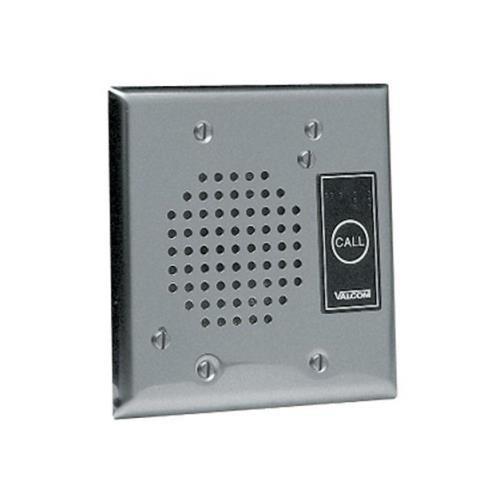 (VALCOM VC-V-1072A-ST Talkback Doorplate Speaker - Stnless Stl White)
