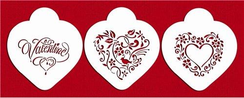 Be My Valentine Heart Set by Designer Stencils