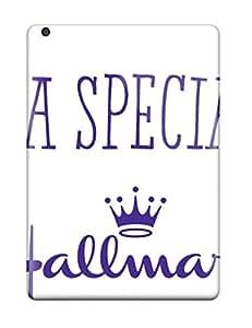 New Hallmark Logo Tpu Case Cover, Anti-scratch ElizabethBruns Phone Case For Ipad Air