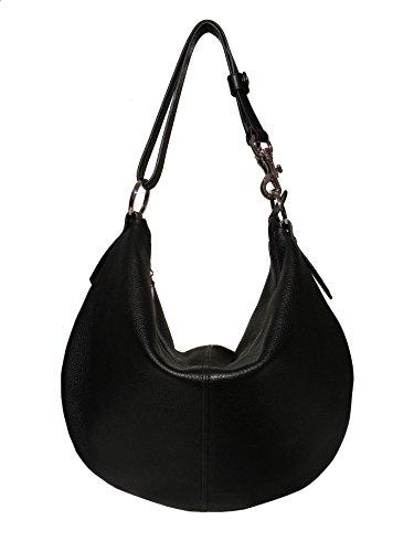 Viviani Noir Femme Pelletteria Nero Artigiana Fashion vz5nfUqn