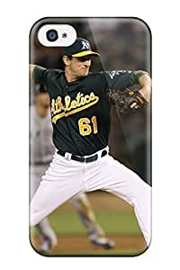 Fashion Protective Oakland Athletics Case Cover For Iphone 4/4s