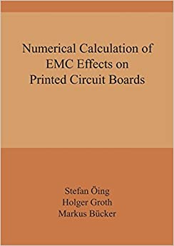 Numerical Calculation of EMC Effects on Printed Circuit Boards