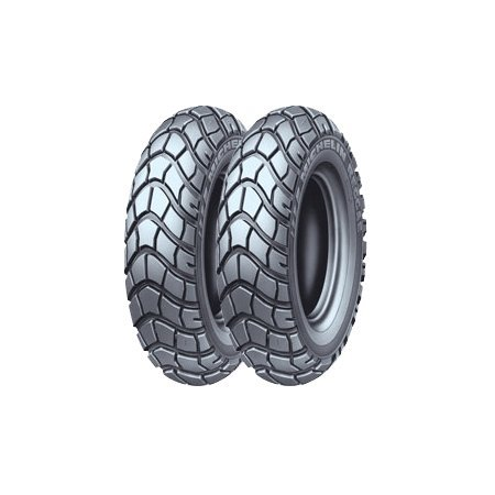 Michelin Reggae Dual Sport Scooter Tire - 120/90J-10/--