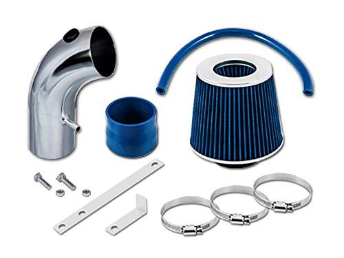 TOYOTA 90 91 92 93 94 95 96 97 98 99 Celica ST GT GTS 1.6L, 1.8L, 2.2L L4 Short Ram Intake Sr-ty14 with Blue Filter1 (Celica Gt Short Ram Intake)