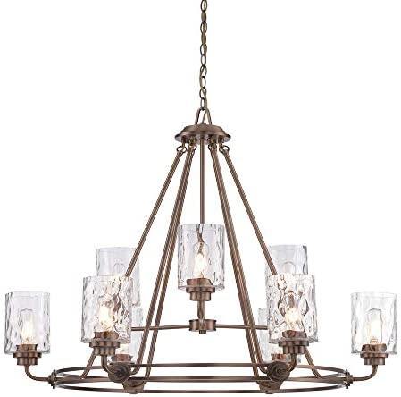 Designers Fountain 87189-OSB Gramercy Park 9 Light Chandelier
