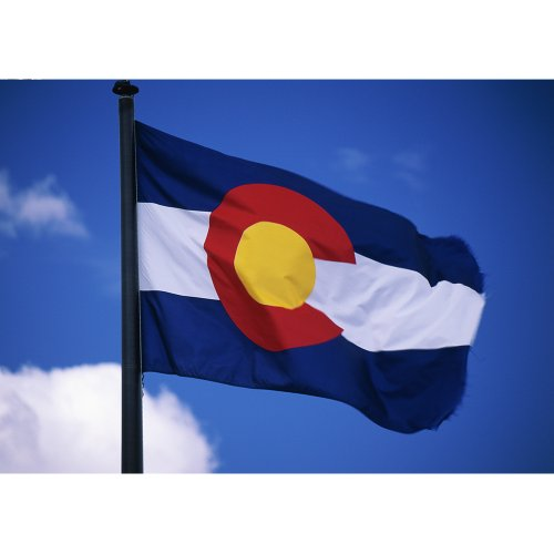 Cheap Allied Flag Outdoor Nylon State Flag, Colorado, 3-Foot by 5-Foot