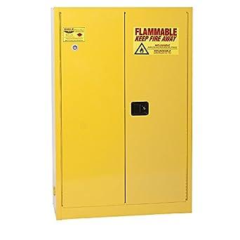 Eagle YPI-4510 Safety Cabinet for Paint u0026 Ink 2 Door Self Close  sc 1 st  Amazon.com & Eagle YPI-4510 Safety Cabinet for Paint u0026 Ink 2 Door Self Close 60 ...