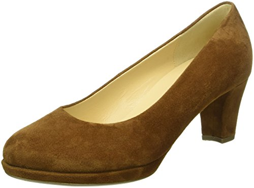 Gabor Shoes Fashion, Sandalias con Plataforma para Mujer Marrón (Copper 12)