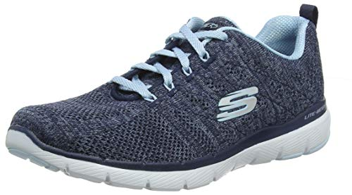 Skechers Women's Flex Appeal 3.0 high Tides Sneaker
