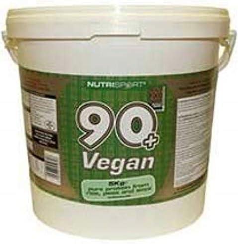 Nutrisport 6 kg 90+ Vegan Protein by Nutrisport: Amazon.es ...