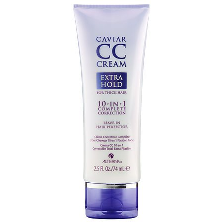 ALTERNA Haircare CAVIAR CC Cream for Hair 10-in-1 Complete Correction Extra Hold 2.5 oz