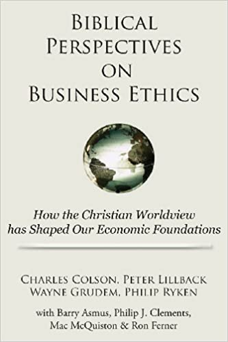 biblical perspectives on business ethics how the christian worldview has shaped our economic foundations