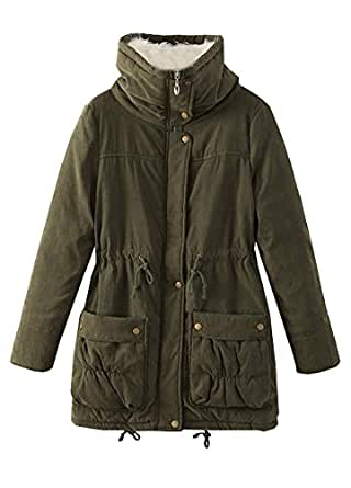 Amazon.com: Wicky LS Women's Fitted Warm Thick Winter