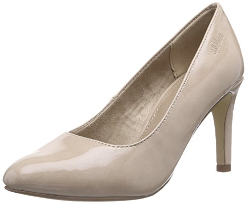 s.Oliver 22401 Damen Pumps Pink (LT ROSE PATENT 548)