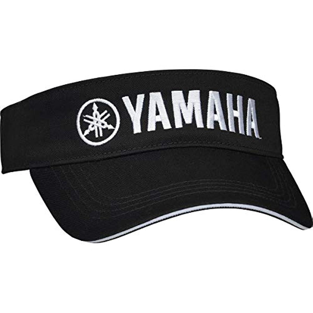 [해외] 야마하 리믹스 RMX 썬바이져(블랙×화이트・사이즈:프리 기준:56~60CM)YAMAHA RMX Y20VSBKW